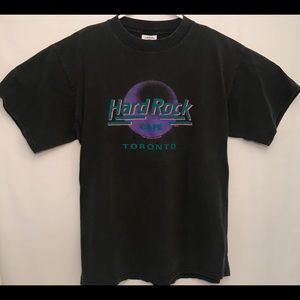 1989 Hard Rock Cafe Toronto T Shirt size Large